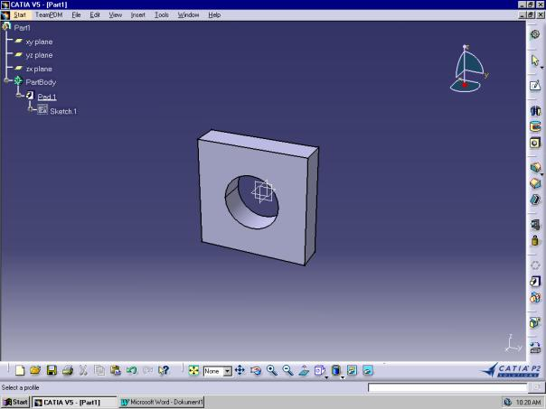 CATIA Short-Documentation for WI-students